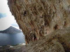 DNA. Grande Grotta Kalymnos Greece