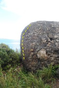 Rock Climbing Photo: The view of Coral Beliefs as seen from standing ne...