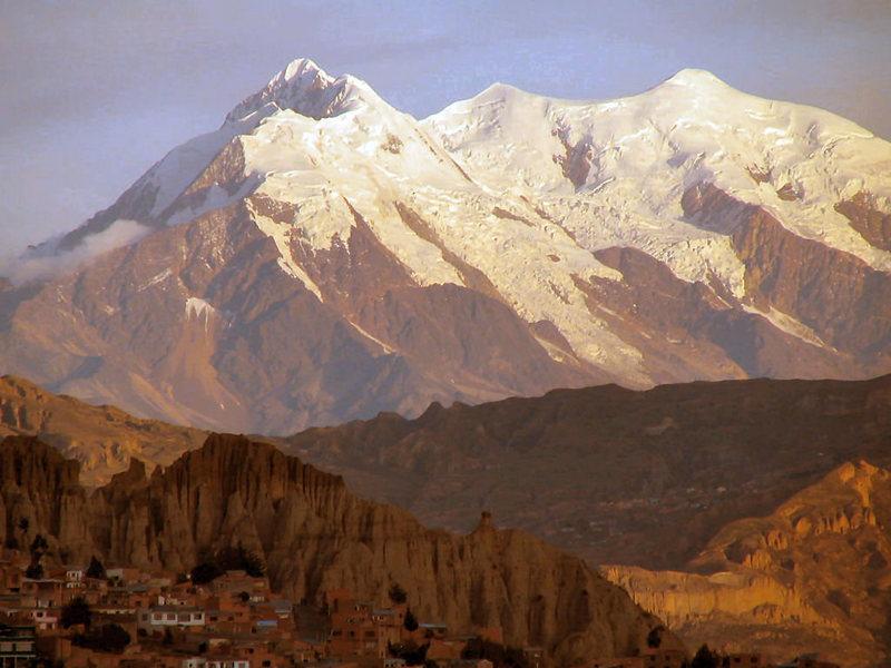 near La Paz Bolivia