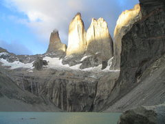 Rock Climbing Photo: Torres del Paine