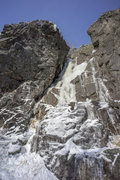 Rock Climbing Photo: Read Between the Lines (early season)