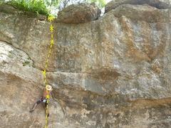 Rock Climbing Photo: Sebastian, cowboy climbing Gateway