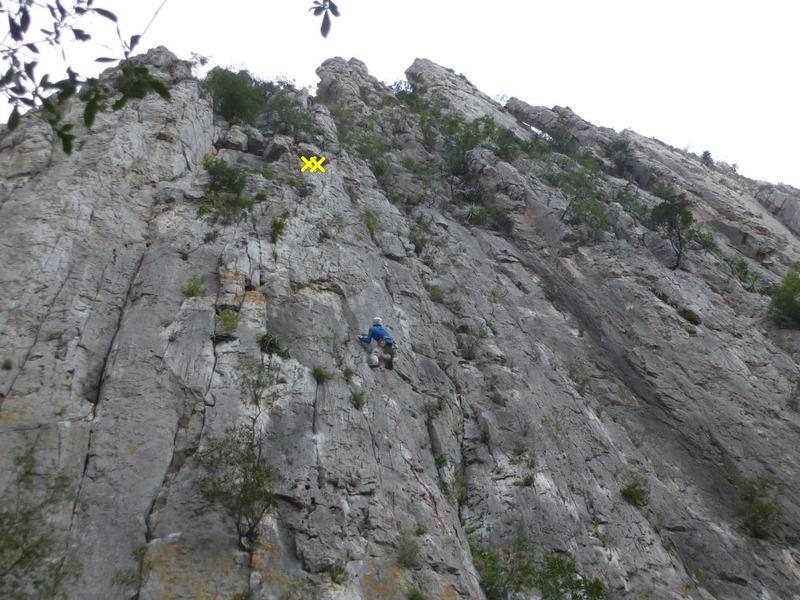 Rock Climbing Photo: Me, headed on up.