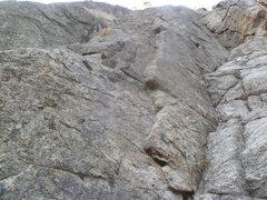 Rock Climbing Photo: A close up of the start.