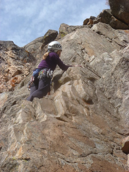 Nearing the crux.