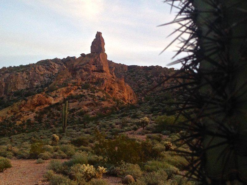 Rock Climbing Photo: Greevers Needle