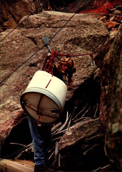 Rock Climbing Photo: Bastille trail crew #1.