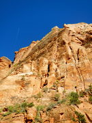 Rock Climbing Photo: Looking at the original start to the Riddler's Del...