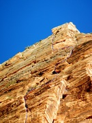 Rock Climbing Photo: View of the Riddler's Delight from the bottom