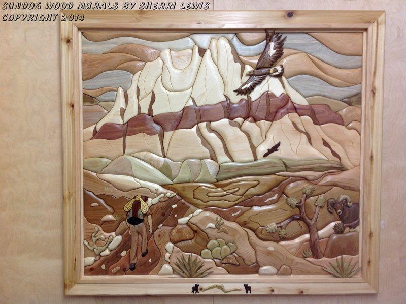 Mt Wilson/Sundog Wood Murals