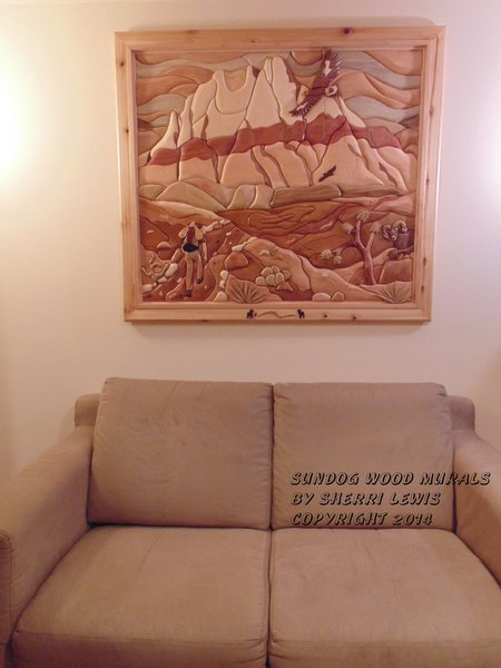 Mt. Wilson/Sundog Wood Murals