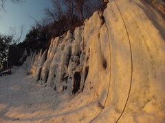 Rock Climbing Photo: Late season rot...