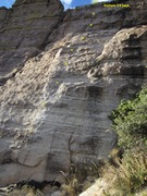 Rock Climbing Photo: Whole route