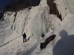 Rock Climbing Photo: Midwinter