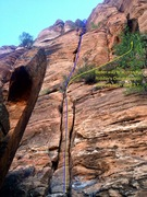 Rock Climbing Photo: Variation 1 to the Riddler's Delight