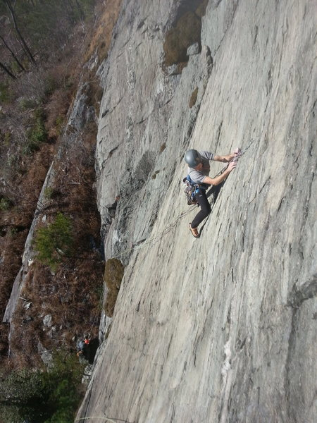 F.W. climbing
