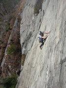 Rock Climbing Photo: F.W. climbing