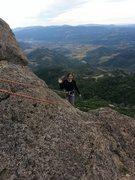 Rock Climbing Photo: Made it