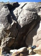Rock Climbing Photo: TR of Beginners Cracks and Popcorn