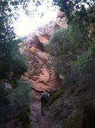 Rock Climbing Photo: Heading towards Tourist Trap