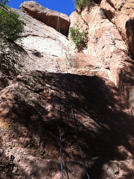 Rock Climbing Photo: TR on Rat Face, to the right, Rat Race