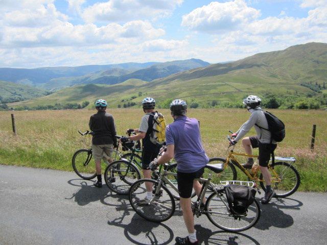 Biking in the Lake District