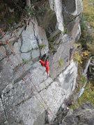 Rock Climbing Photo: Derision Groove.. Borrowdale Lake District