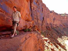 "Rock Climbing Photo: ""Walking"""