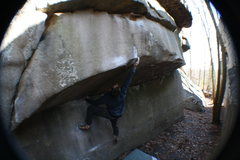 Rock Climbing Photo: good send T