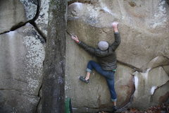 Rock Climbing Photo: it's like crimping on a blade knife i swear