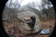Rock Climbing Photo: T on spare