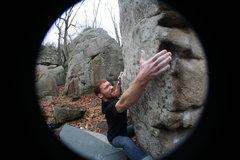 Rock Climbing Photo: Incredarete Left Sit v4