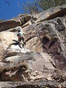 Rock Climbing Photo: David Knupp on Little People