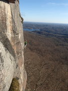 Rock Climbing Photo: BB on this great route