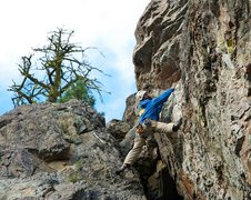 Rock Climbing Photo: Spanning the gap. (Photo: Darryl Han)