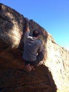 Rock Climbing Photo: Pete Turner on Street Corner. Santa Barbra