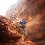 Rock Climbing Photo: Sedona AZ
