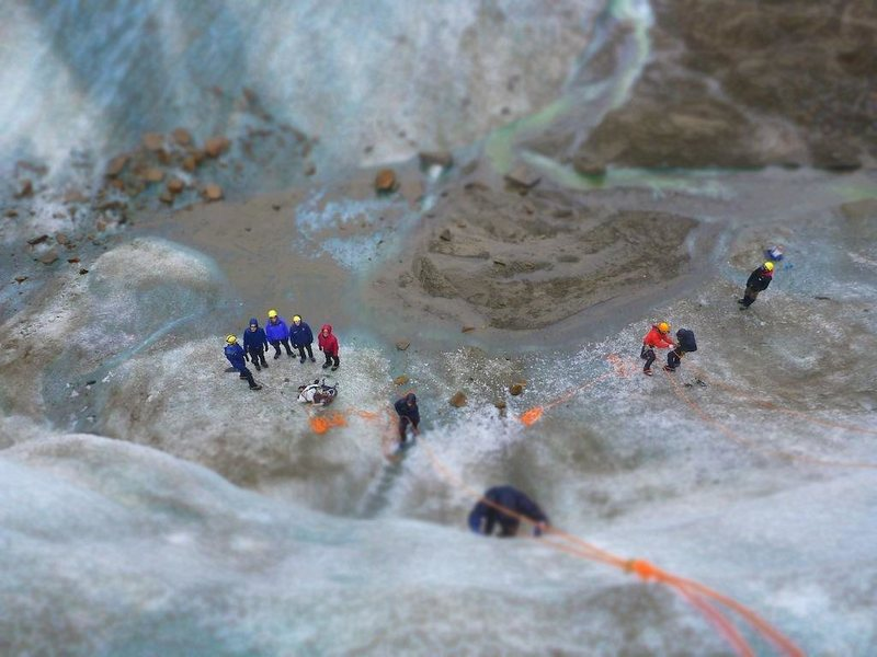 Ice climbing AK