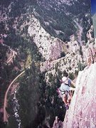 Rock Climbing Photo: Yellow Ridge, Eldorado Canyon