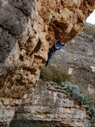 Rock Climbing Photo: Unknown 5.12c action. December 2014.