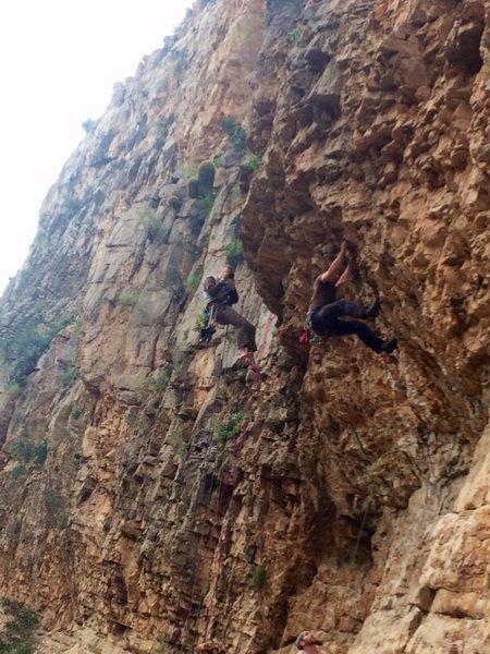 Rock Climbing Photo: Just hanging around taking pictures...