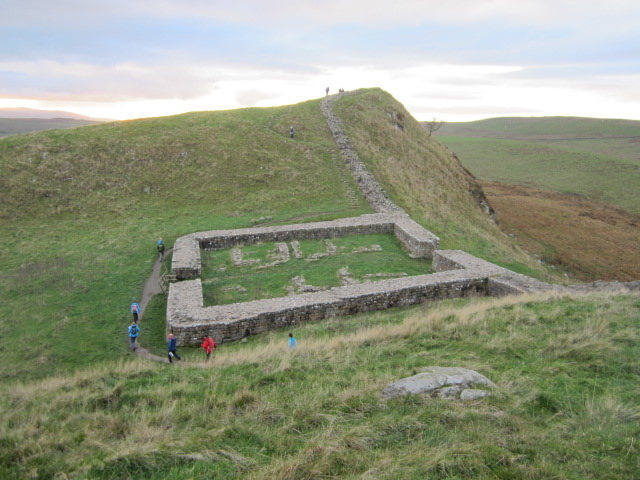Hadrian's Wall Roman fort