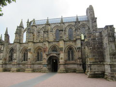 Rock Climbing Photo: The Roslyn Chapel ,outside Edinburgh . Part of the...