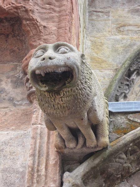 Gargoyle on the Roslyn Chapel