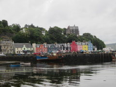 Rock Climbing Photo: Town of Tobermory,Mull