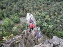 Rock Climbing Photo: Black Crag . English Lake District.