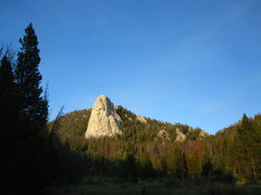 Rock Climbing Photo: The Wedge from the approach - although I always th...