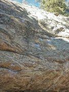 Rock Climbing Photo: Same as Western but finishes up and right, to the ...