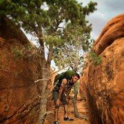 Rock Climbing Photo: Loving Arches National Park!