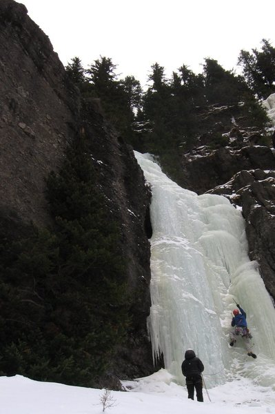 Rock Climbing Photo: Tim on Hang Over